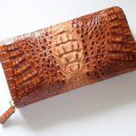 ワニ(カイマン)の長財布